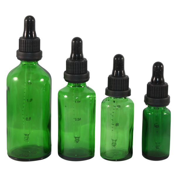 Essential Oil Glass Bottles With Dropper Hemkund