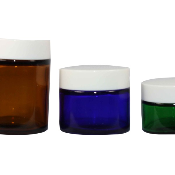 Glass Jars With Cap Hemkund