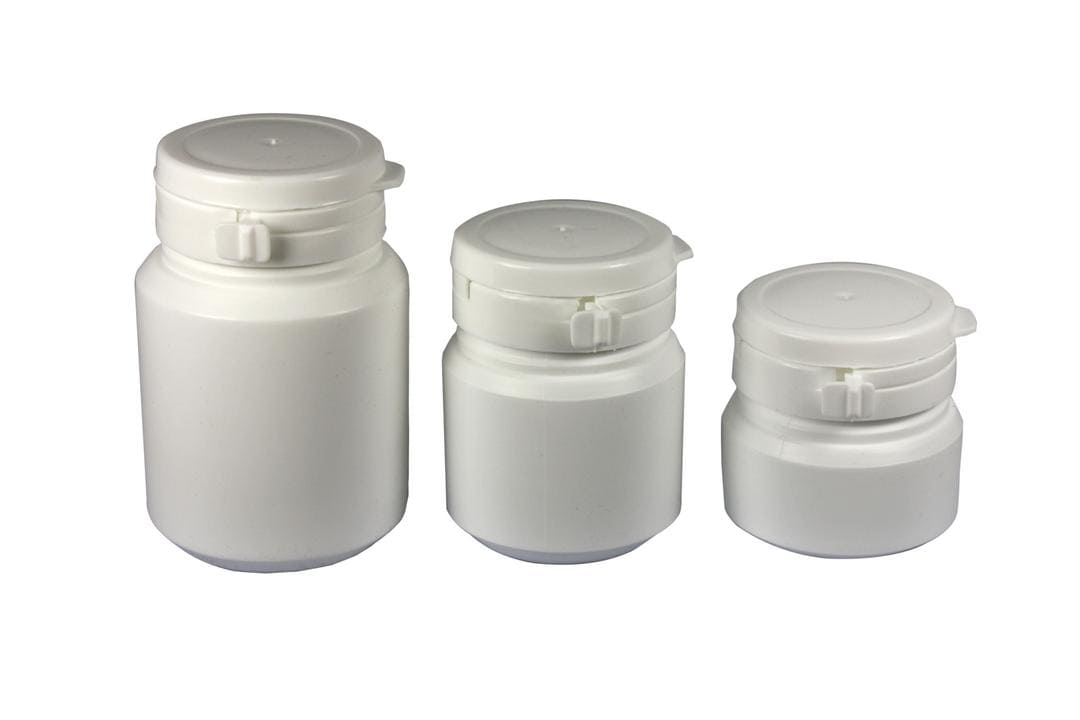 Hdpe Pill Bottle With Easy Pulling Ring Caps Hemkund